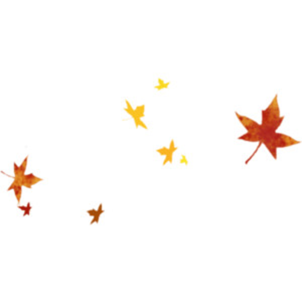 1858 Autumn Leaves free clipart.
