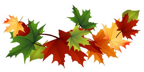Fall Leaves Free Clip Art.
