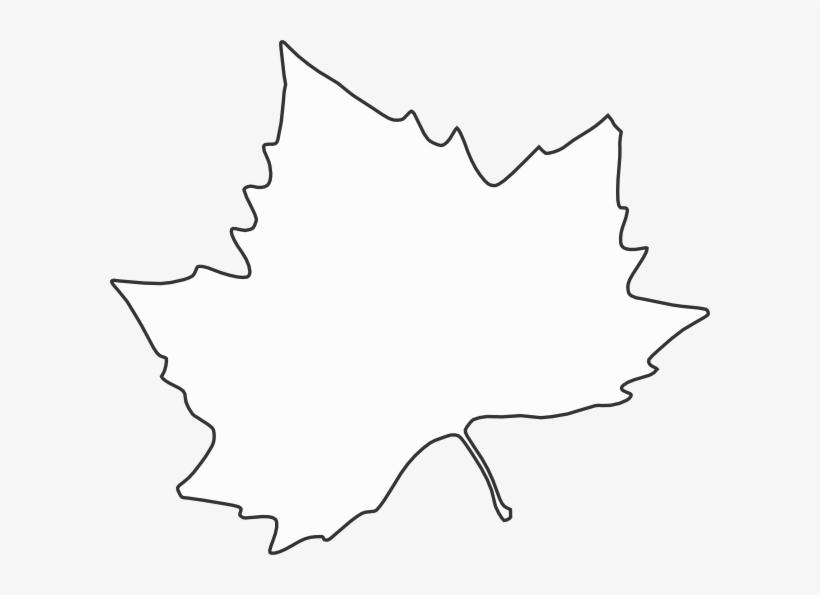 For Developers Black Leaf Outline Clipart.