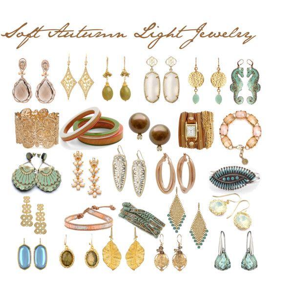 Soft Autumn Light Jewelry.