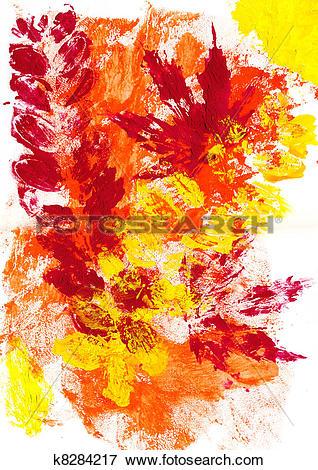 Stock Illustration of Autumn mood: variant k8284217.