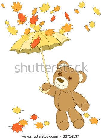 Cute Hand Drawing Cartoon Cat Umbrella Stock Vector 319699847.