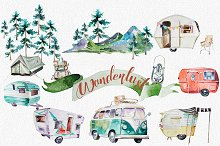 Watercolor Autumn Mood Clipart ~ Illustrations on Creative Market.
