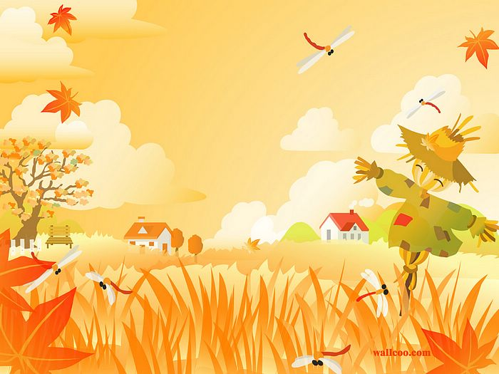 Autumn Nature Clip Art.