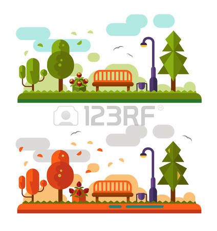 12,865 Autumn Park Cliparts, Stock Vector And Royalty Free Autumn.