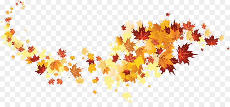 Autumn Tree Branch png download.