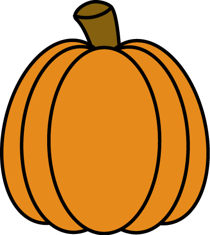Autumn Pumpkin Clip Art.