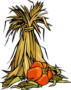 Fall and pumpkin clipart.
