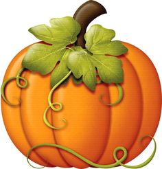 Autumn pumpkin clipart.