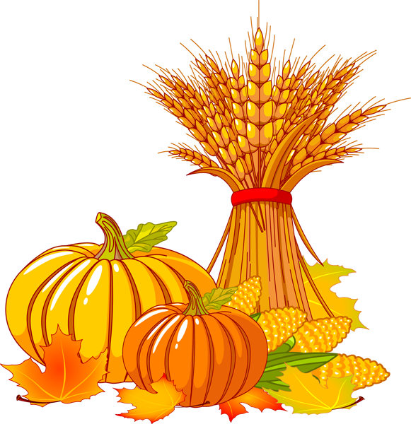 Fall Pumpkin Clipart.
