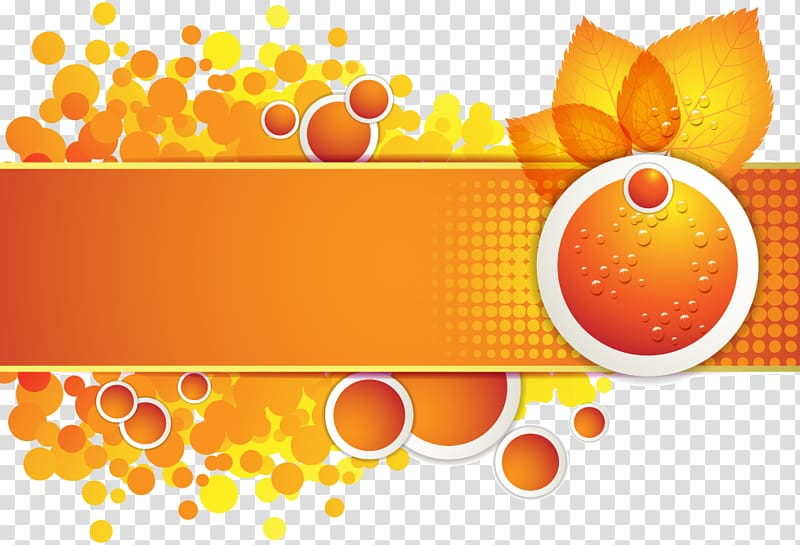 Euclidean , autumn orange border transparent background PNG.