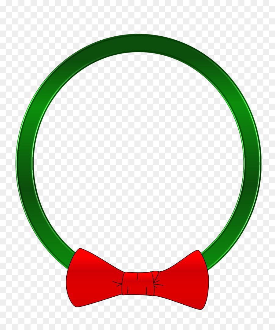 Green Background Ribbon.