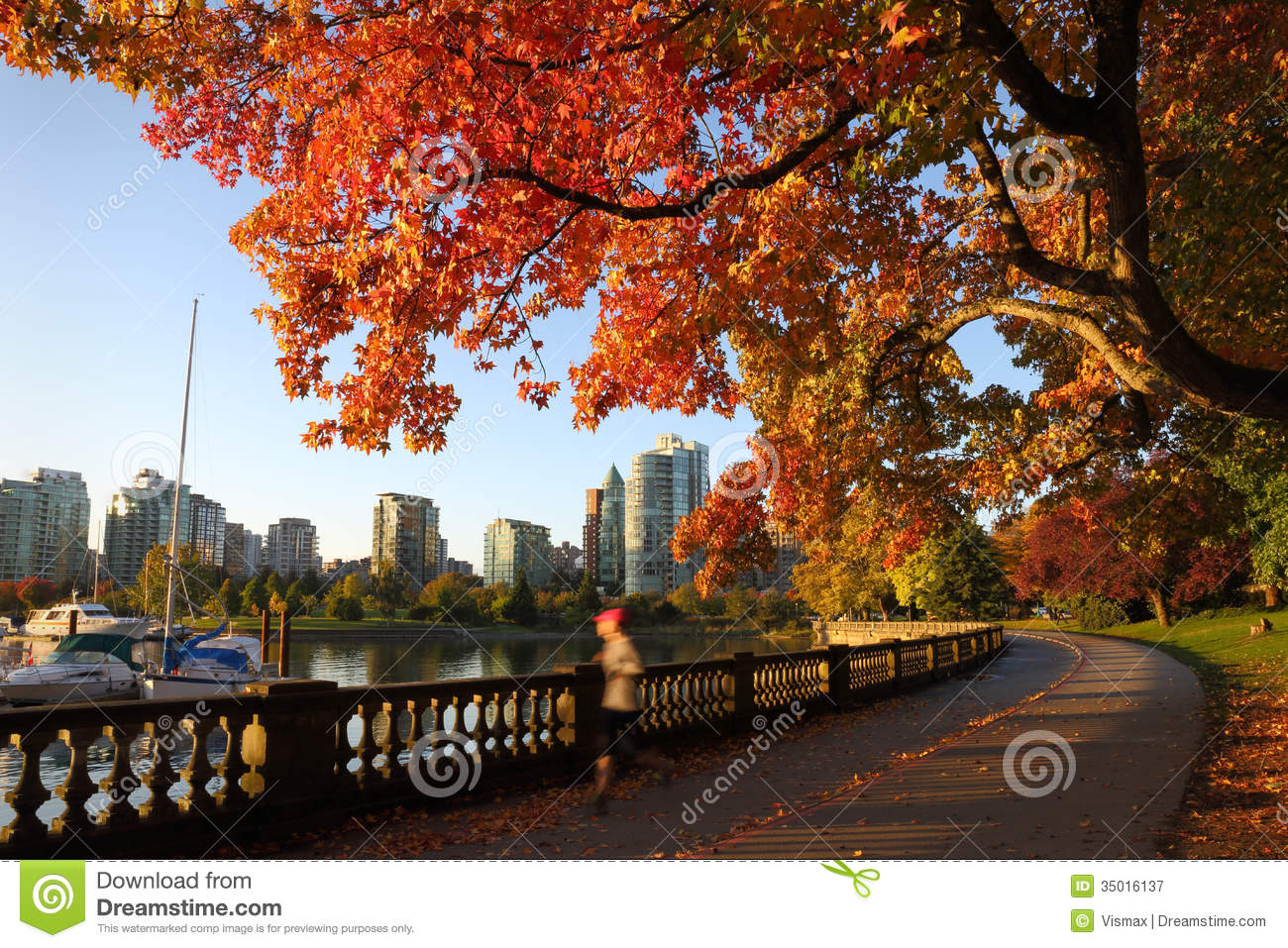 Vancouver In Canada Stock Images.