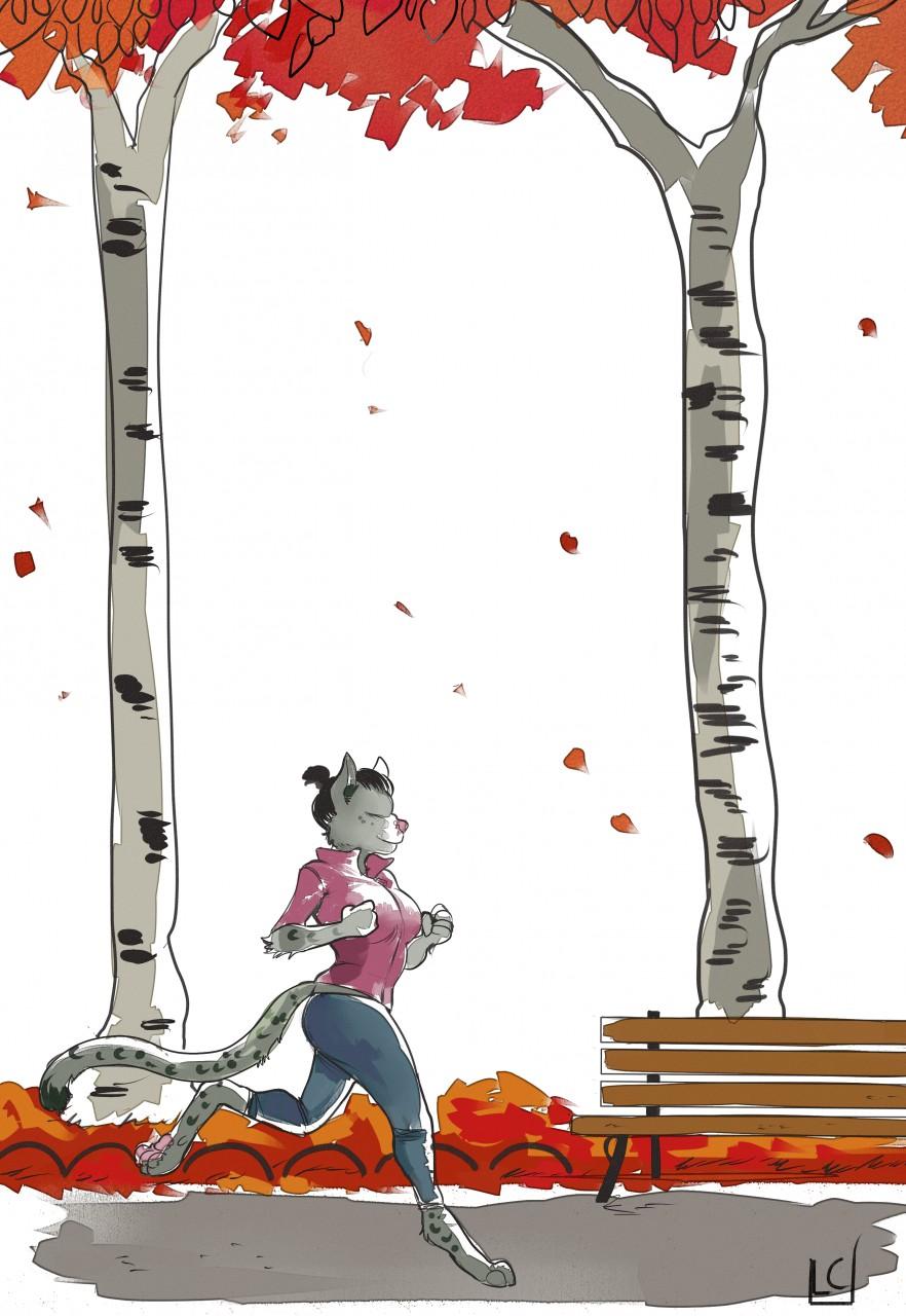 Autumn run — Weasyl.