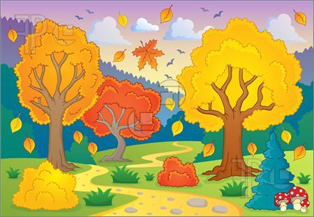 Free Clipart Autumn Scenes.