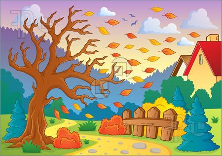 Autumn Season Clipart Images.