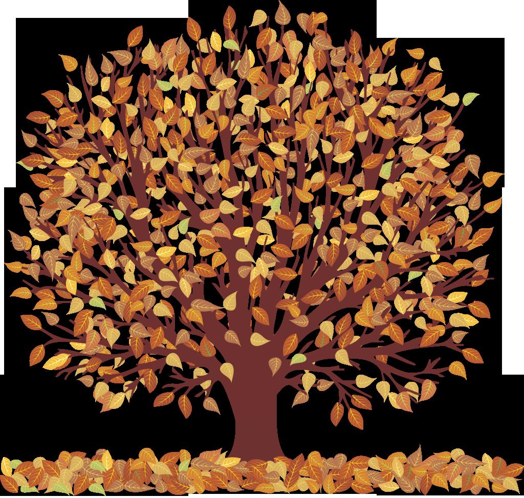 november tree clipart - Clipground