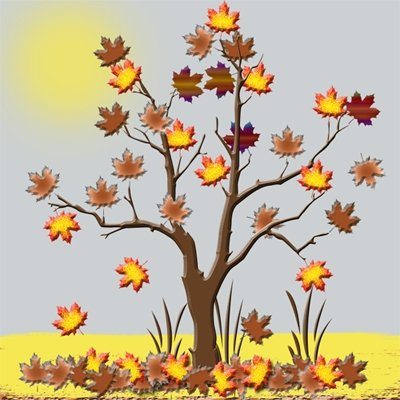 Autumn time clipart #1