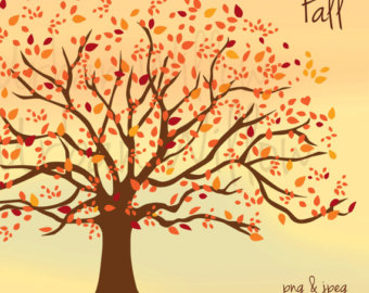 Fall Tree Clipart Autumn clipart Fall Images by UrbanWillow.