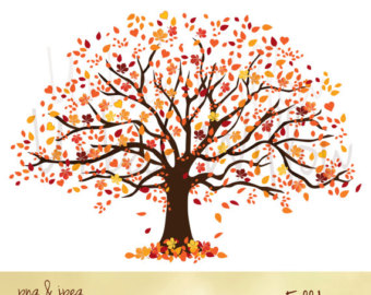 View Clip Art Trees by UrbanWillow on Etsy.