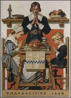 Free Vintage Thanksgiving Clip Art.