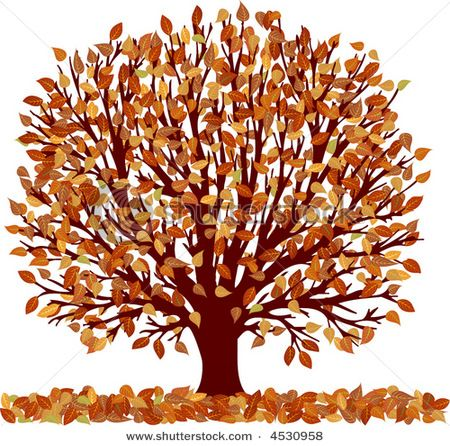 Fall Flowers Clipart.