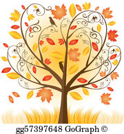Autumn Tree Clip Art.
