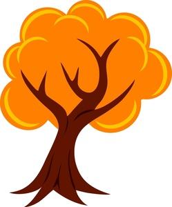 Autumn tree clipart free.