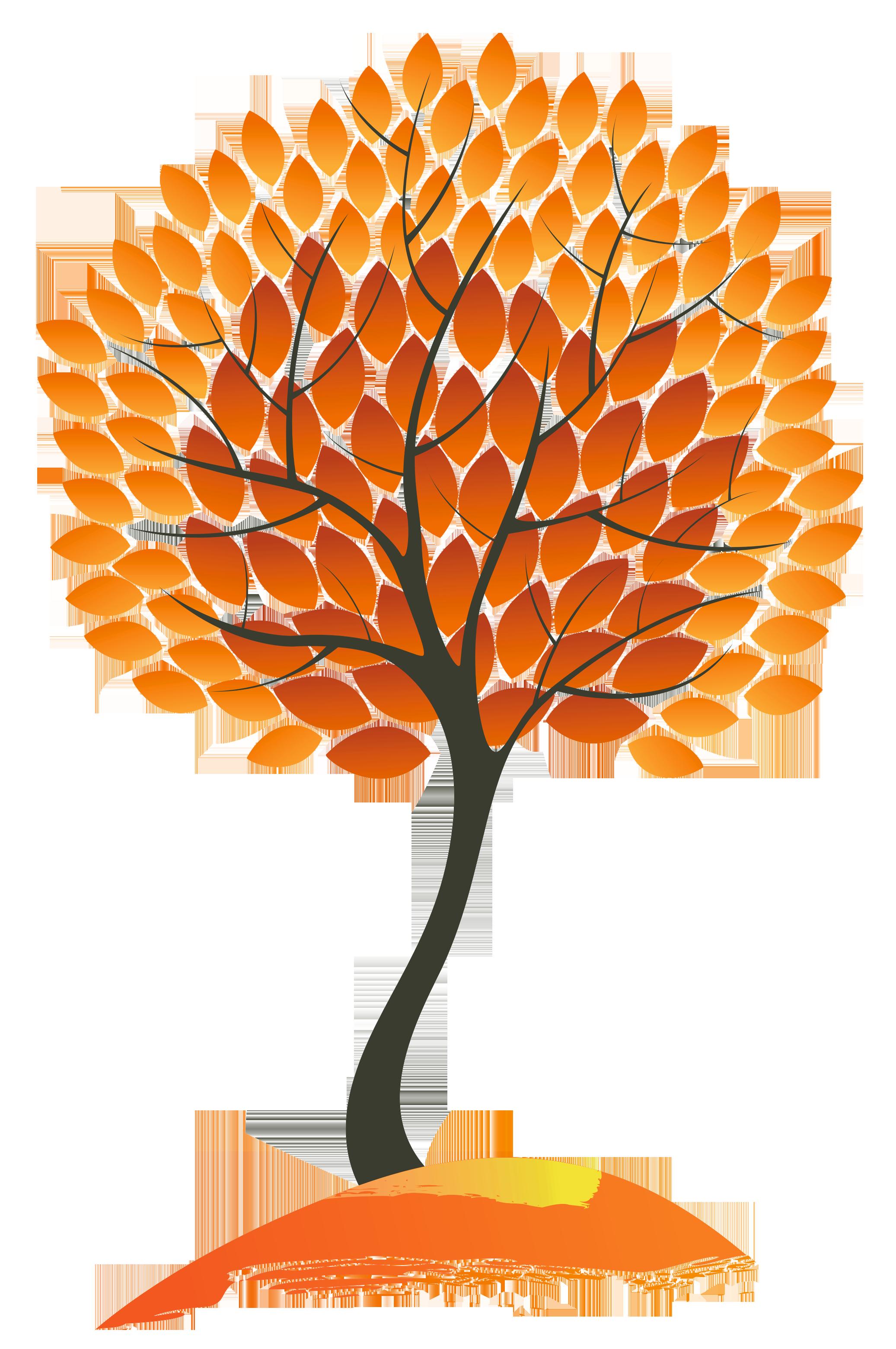 autumn tree clipart - photo #39