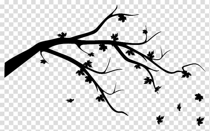 Twig Autumn leaf color I Am Missing You, Leaf transparent.