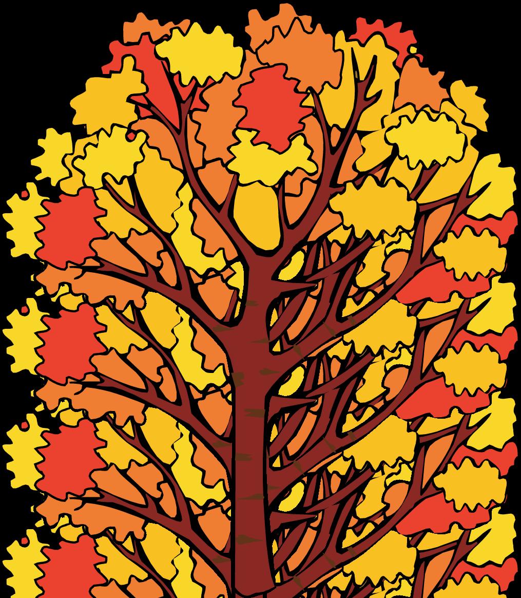 Fall Tree Clip Art.