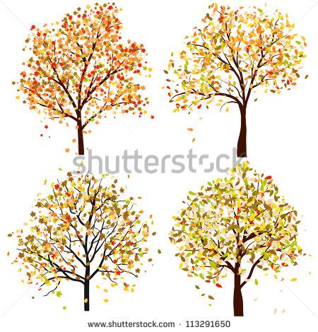 Autumn Tree Stock Photos, Royalty.