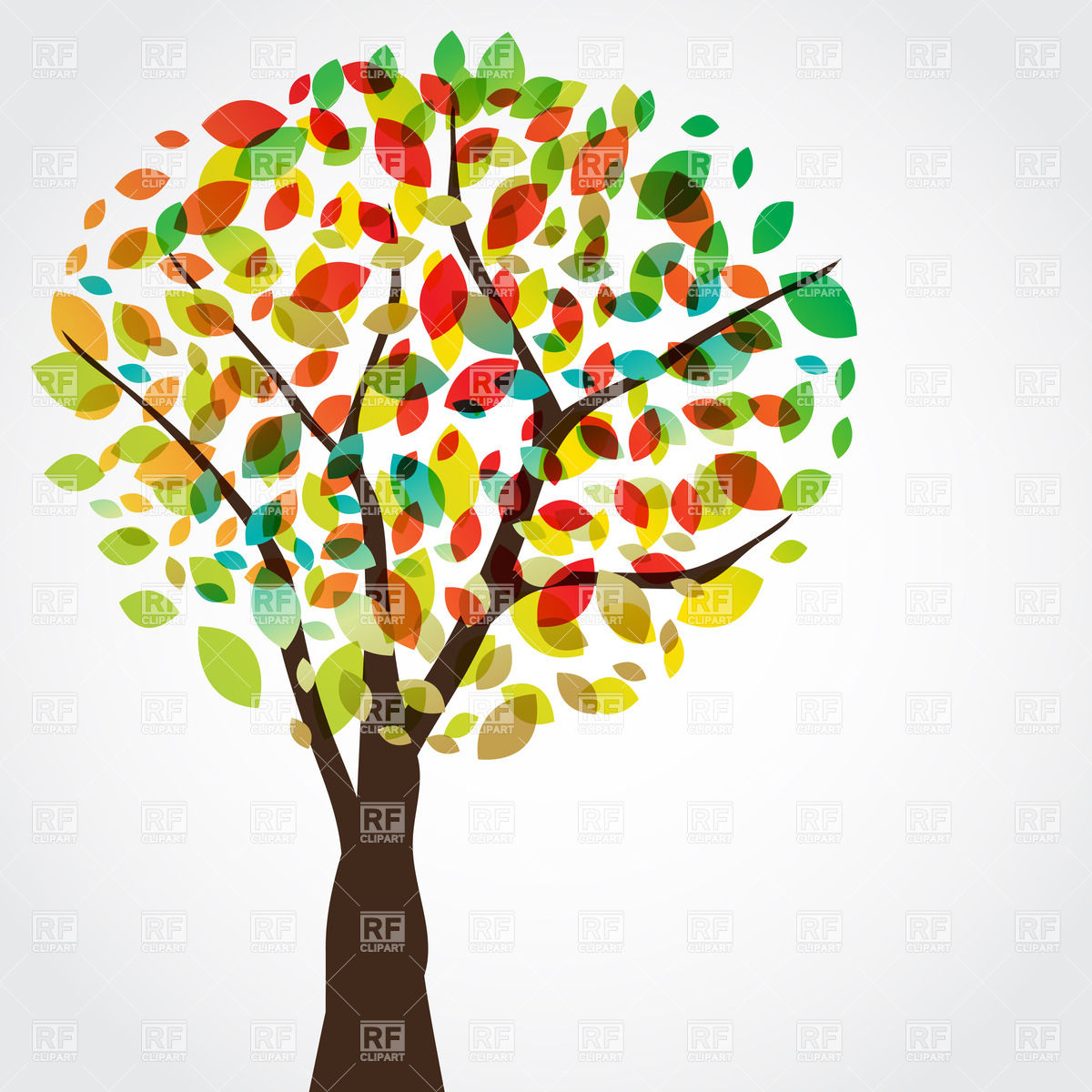 Autumn Tree Clipart.