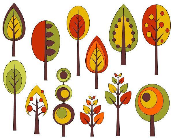 Fall Trees Clipart Fall Trees Clipart 3 X Carwad Net.