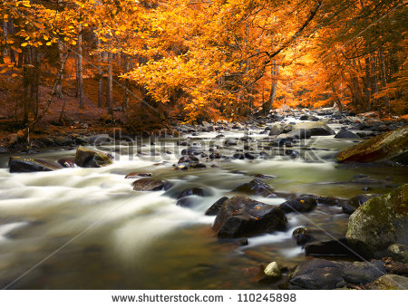 Autumn Landscape Stock Photos, Royalty.