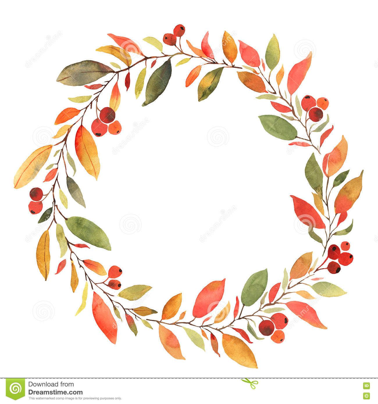 Fall Wreath Clipart Free in 2019.