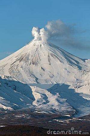Avachinsky Volcano.