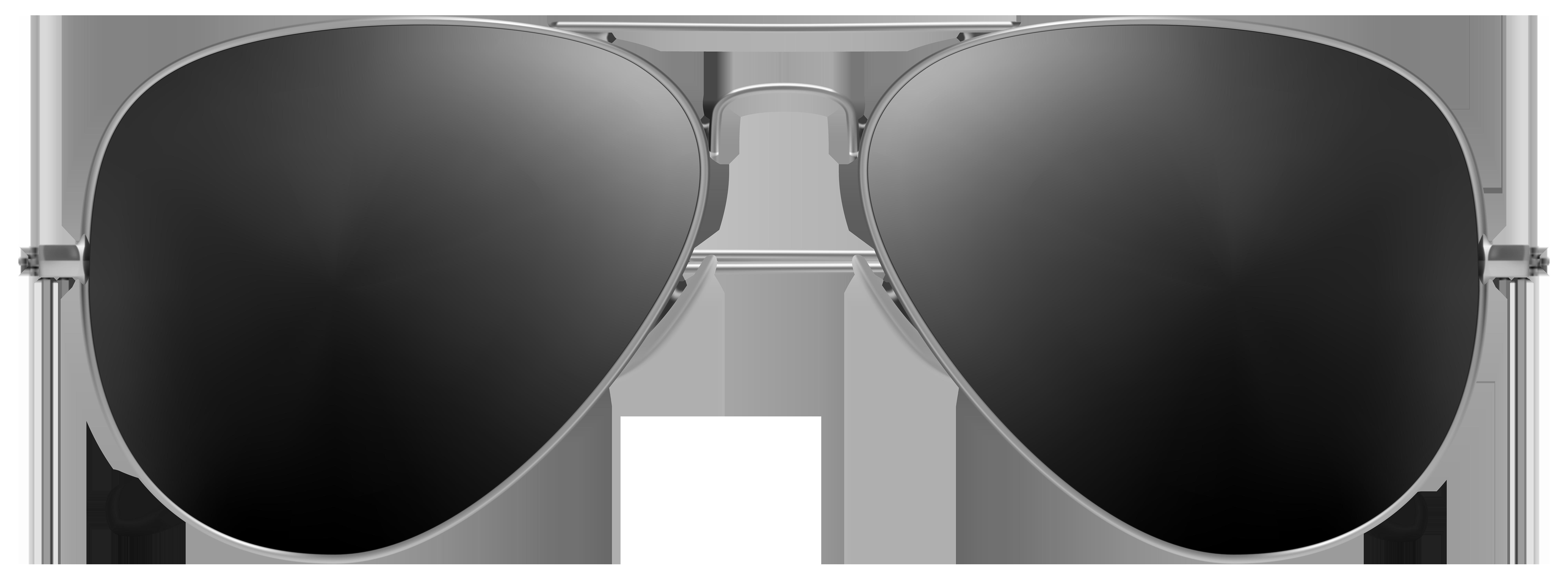 Aviator Sunglasses PNG Clip Art Image.