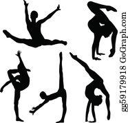 Flexibility Clip Art.