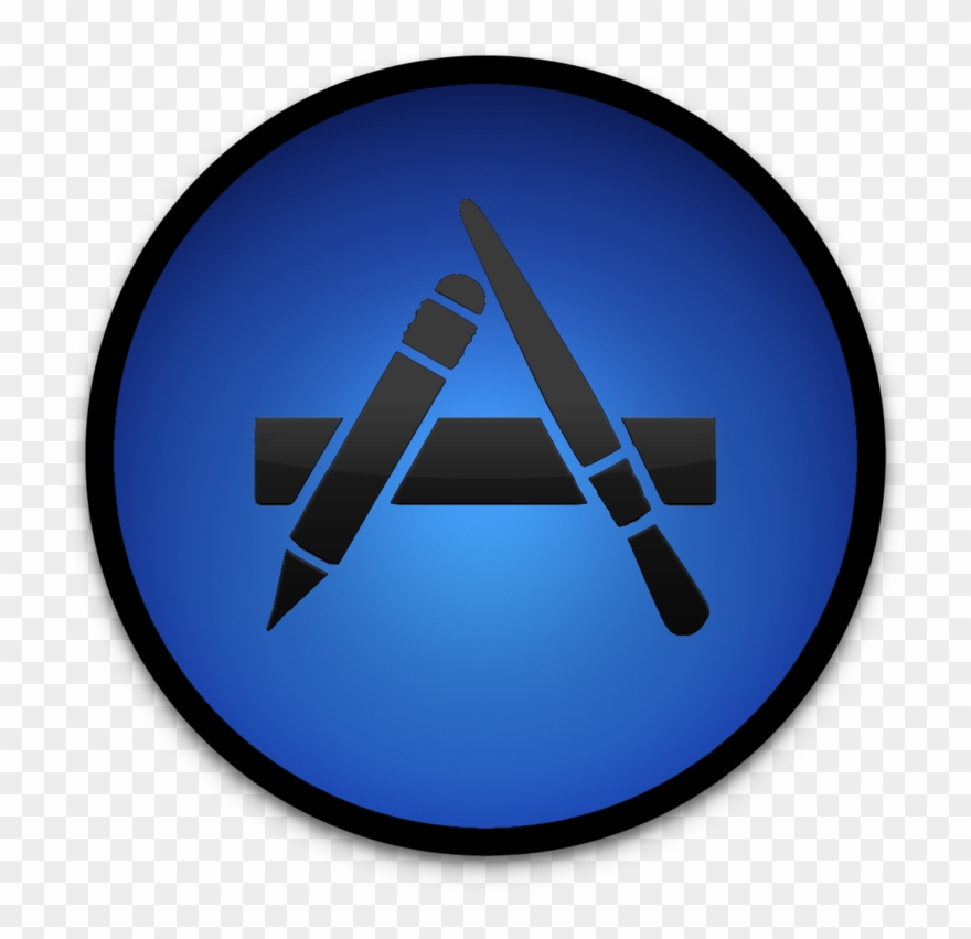 Transparent App Store Icon By Thearcsage.