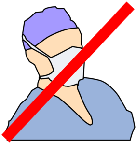 Doctor With Mask Not Available Clip Art at Clker.com.