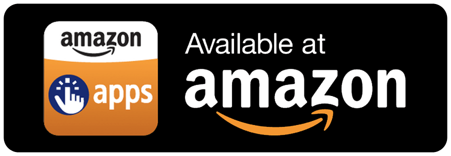 Amazon Apps Available At Amazon Badge transparent PNG.