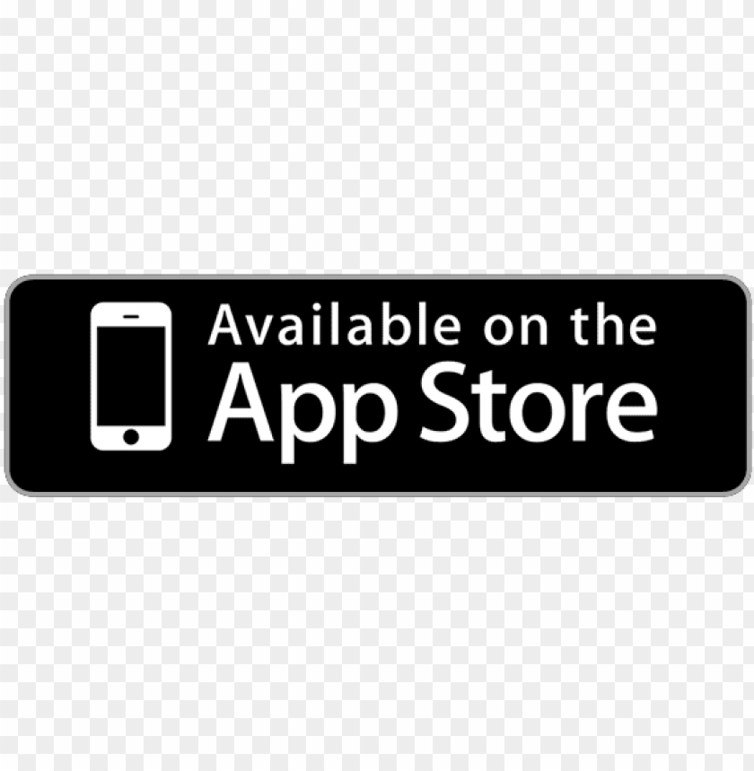 available on the app store PNG image with transparent background.