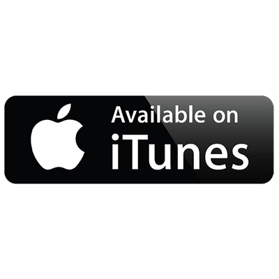 Available On iTunes Logo.