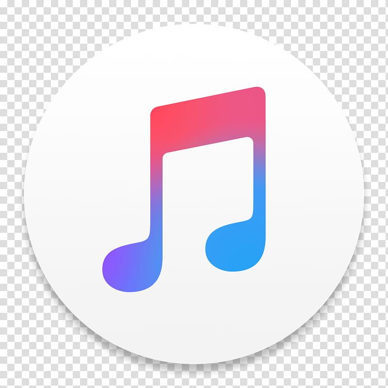 ITunes El Capitan, music player application icon transparent.