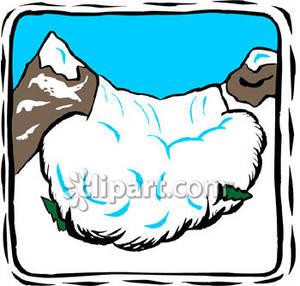 Avalanche clip art free.