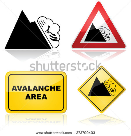 Avalanches Stock Photos, Royalty.