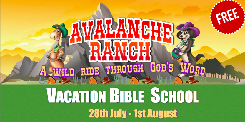 Vacation Bible School 2014.