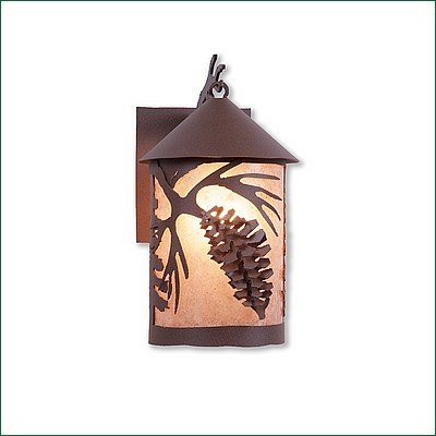 Exterior Sconce Country Unique Handmade in USA.
