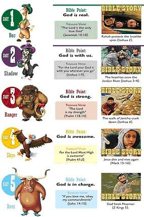 3531 Best VBS (Vacation Bible School) resources images in.